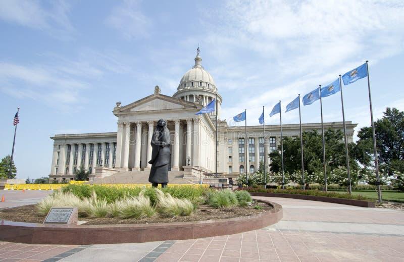 budynku capitol Oklahoma stan obrazy royalty free