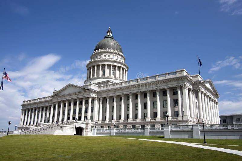 budynku capitol stan Utah fotografia stock