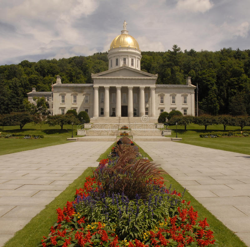 budynku capitol stan Vermont obrazy royalty free