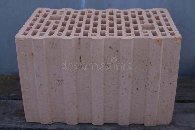 Budynku ceramiczny blok obrazy stock