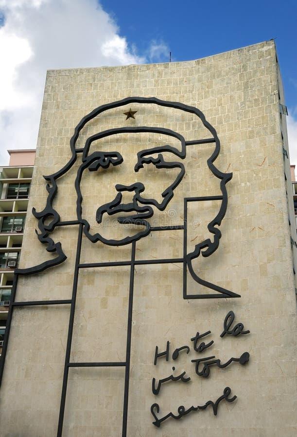 budynku che Cuba sławny wizerunek zdjęcie royalty free