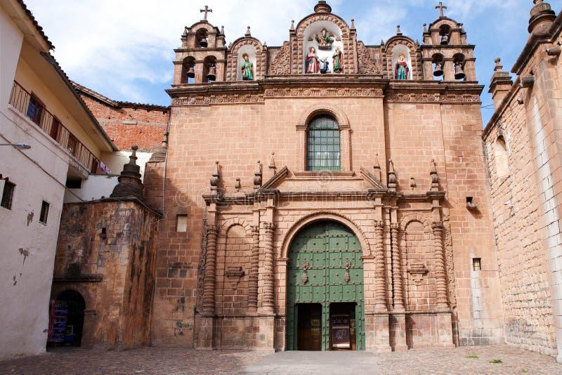budynku cuzco Peru fotografia stock