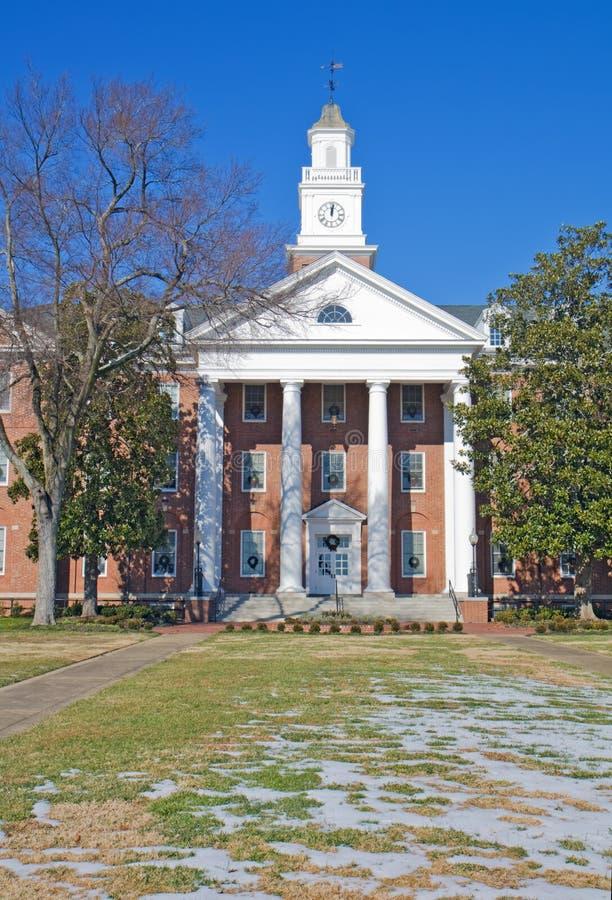 budynku czarny kampus historycznie obraz stock