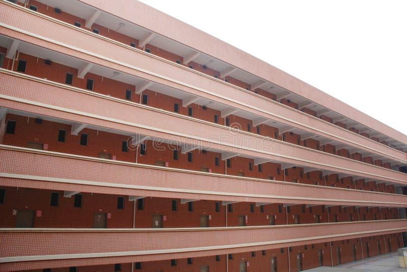 budynku dormitorium szkoła obraz royalty free