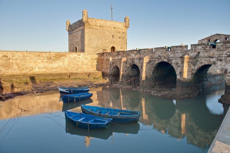 budynku essaouira forteczny mogador Morocco obrazy stock