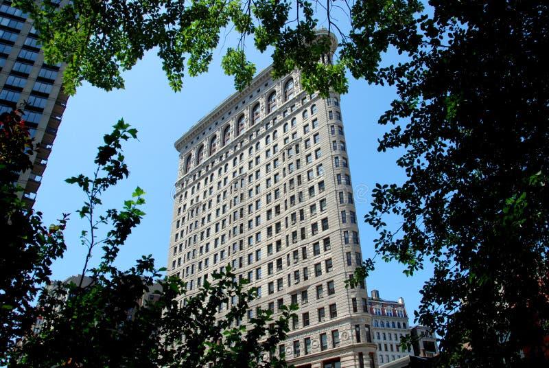 budynku flatiron nyc fotografia royalty free