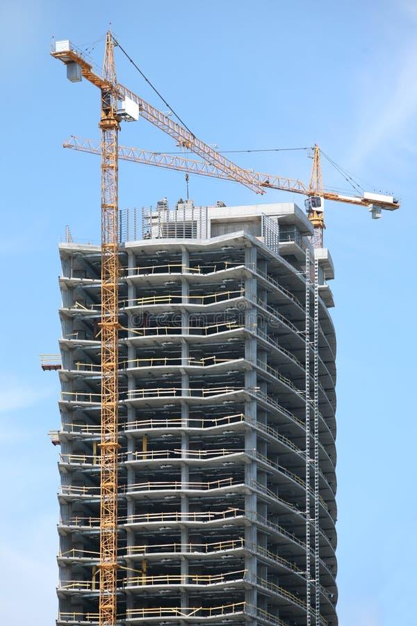 budynku highrise biuro zdjęcia royalty free