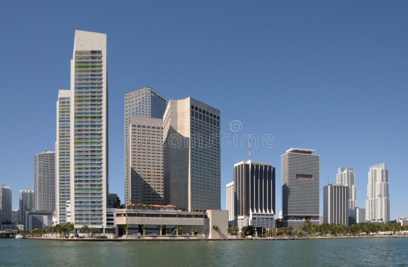 budynku highrise Miami zdjęcie stock