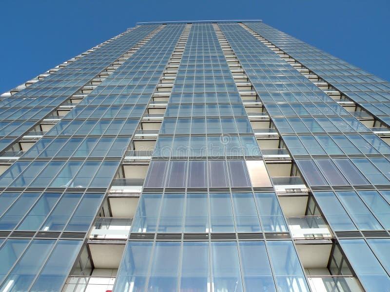 budynku hight nowożytny wzrost zdjęcia royalty free