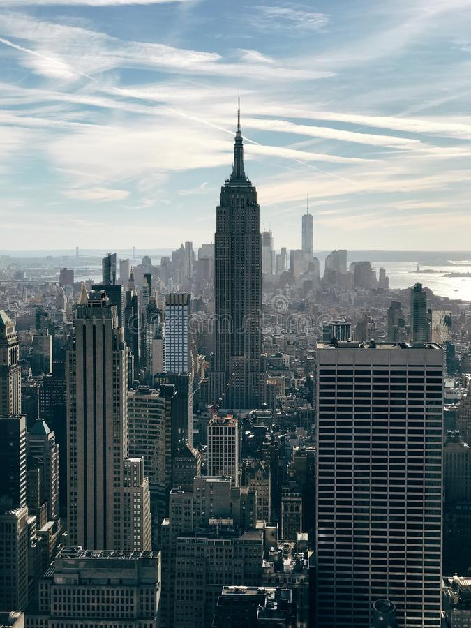 budynku imperium Manhattan nowy stan usa York obrazy royalty free
