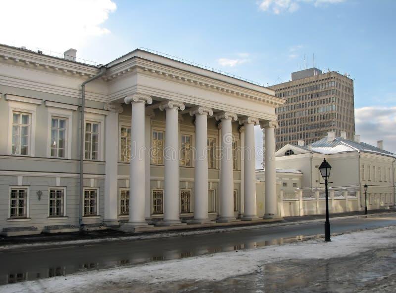 budynku Kazan stan uniwersytet fotografia royalty free
