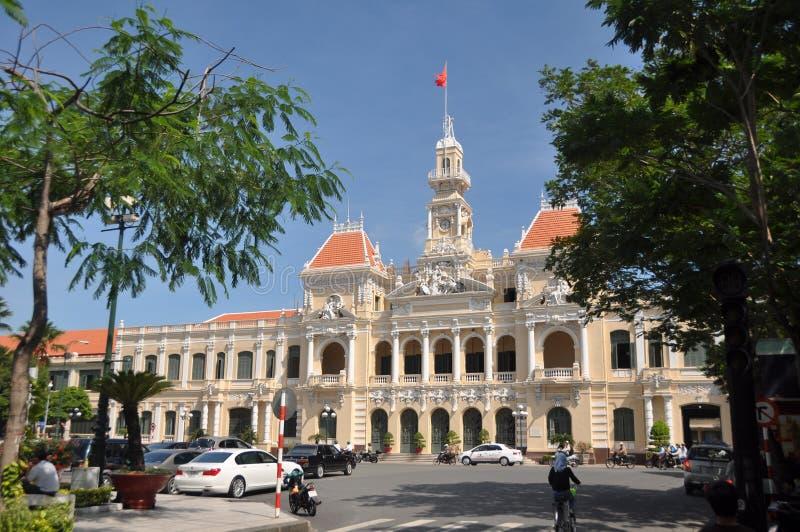 budynku komitet zaludnia Vietnam zdjęcia stock