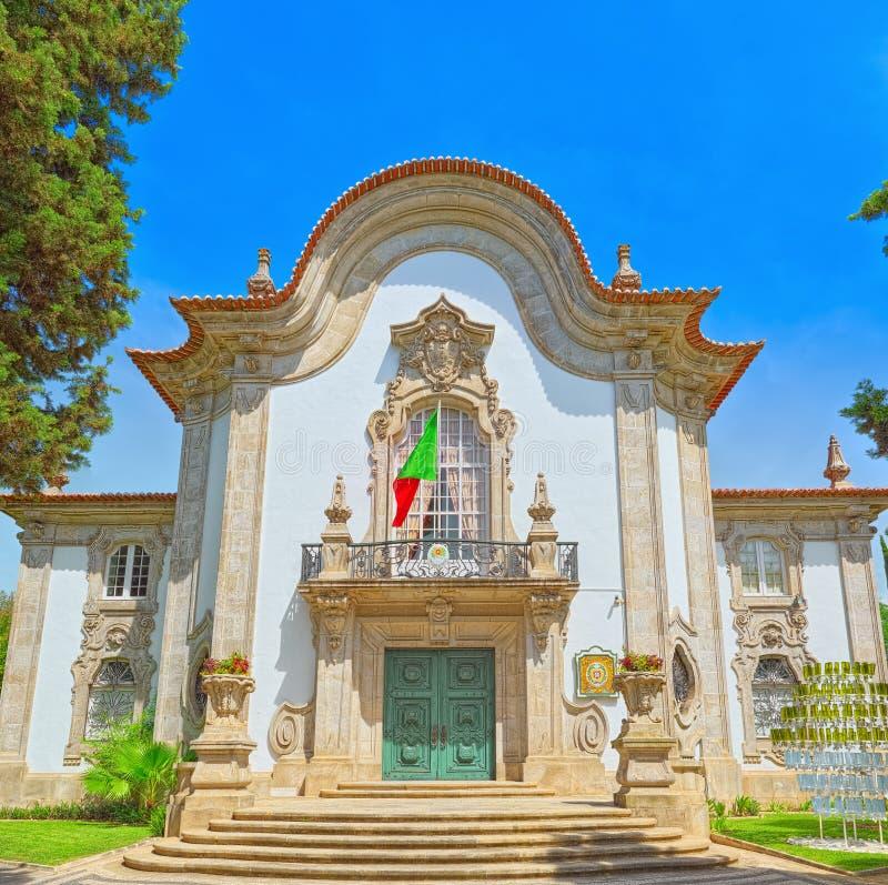 Budynku konsulat generalny Portugalia W Seville Hiszpania fotografia royalty free