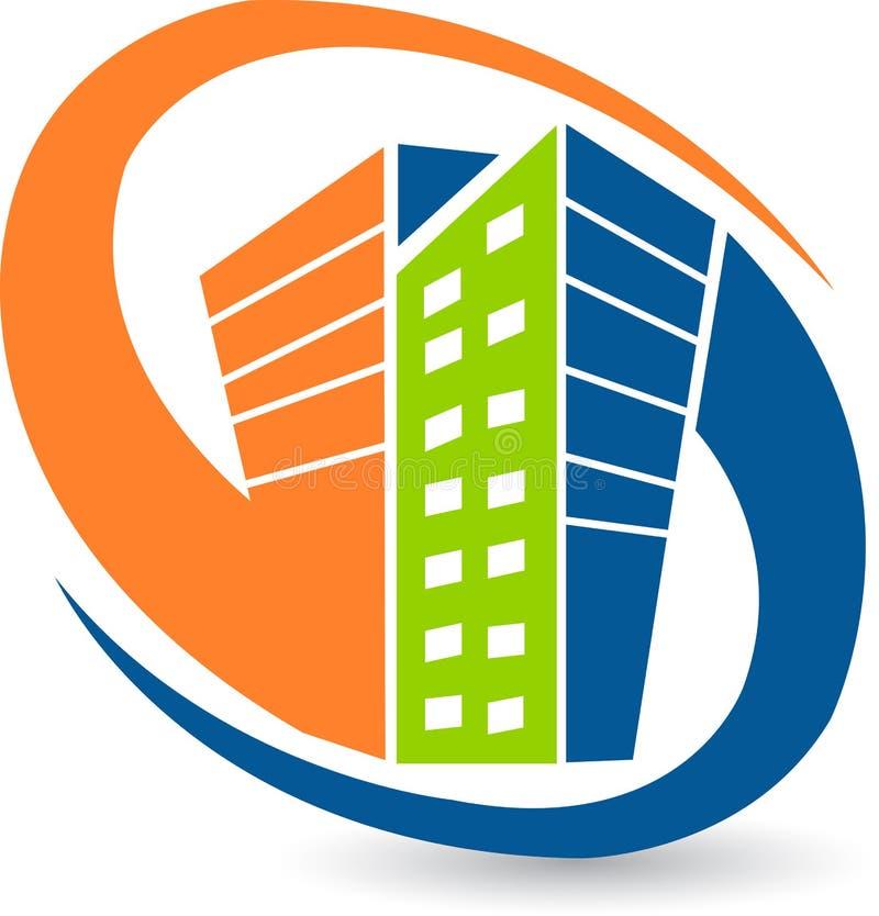 budynku logo royalty ilustracja