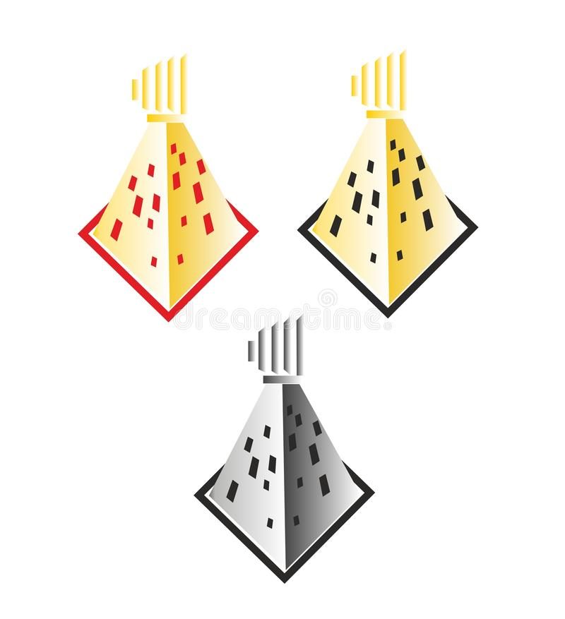 Budynku logo ilustracja wektor
