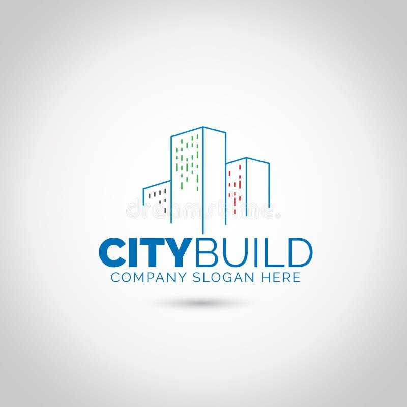 Budynku logo fotografia royalty free