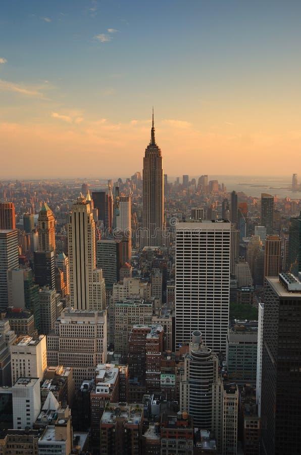 budynku miasta imperium Manhattan nowy stan York obrazy stock
