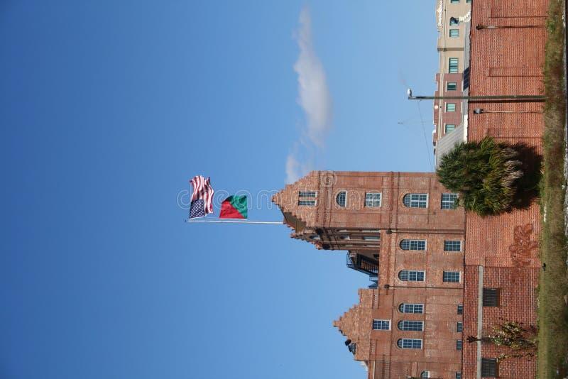budynku miasta stary ybor zdjęcie royalty free