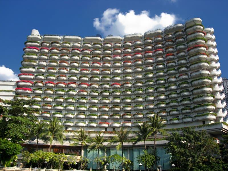 budynku piękny hotel fotografia royalty free