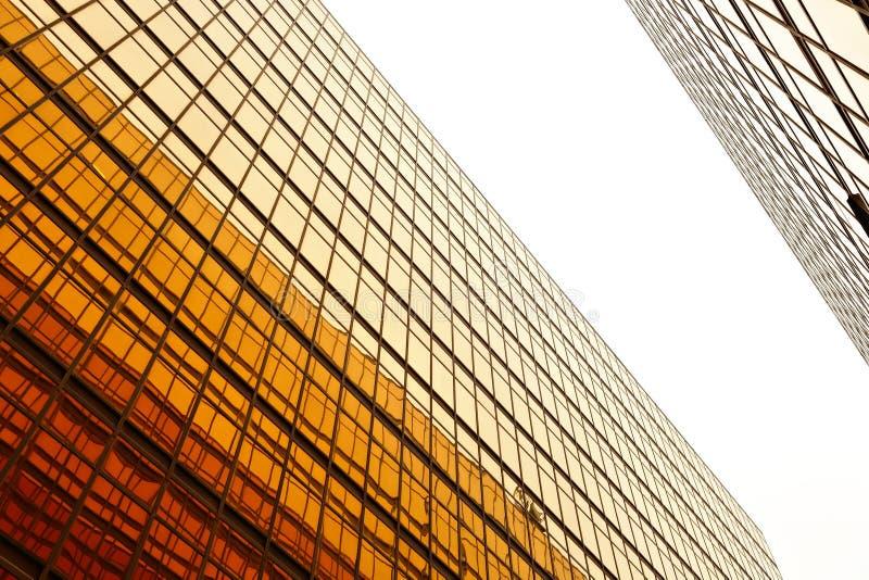 budynku szklana biura ściana obrazy royalty free