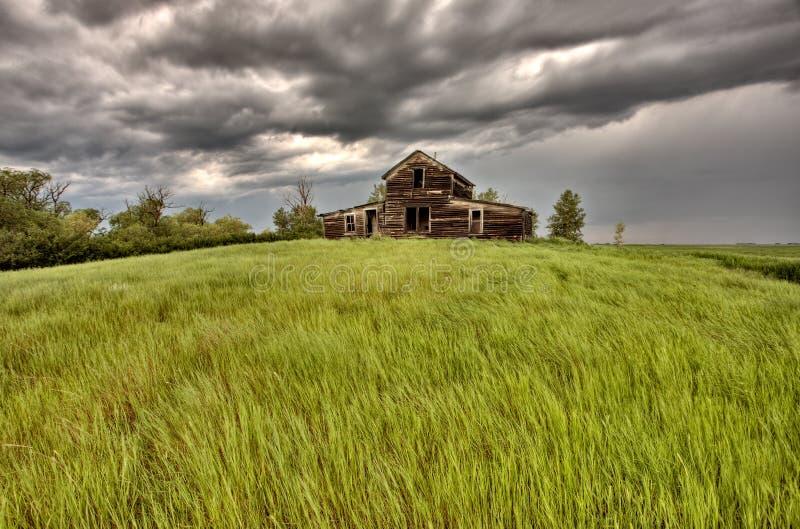 budynku zaniechany gospodarstwo rolne obrazy stock