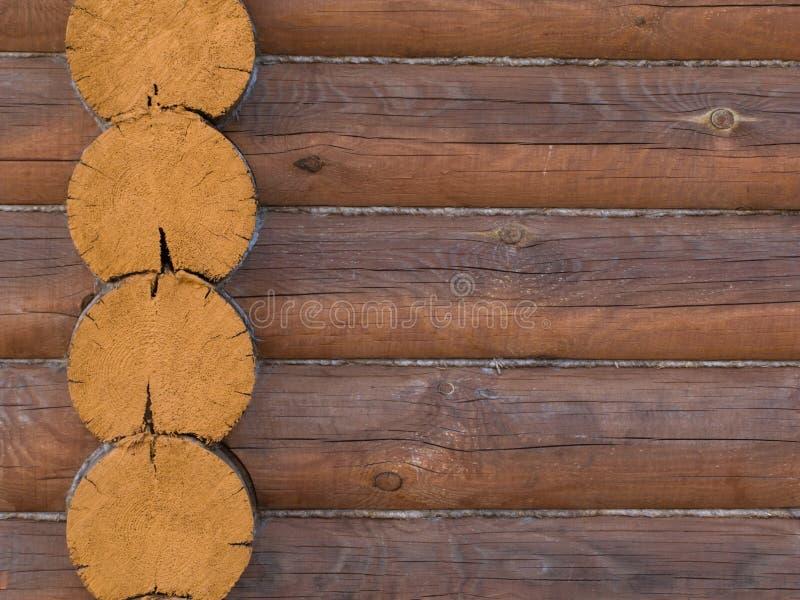 budynku zewnętrzny domu beli struktury drewno obraz stock