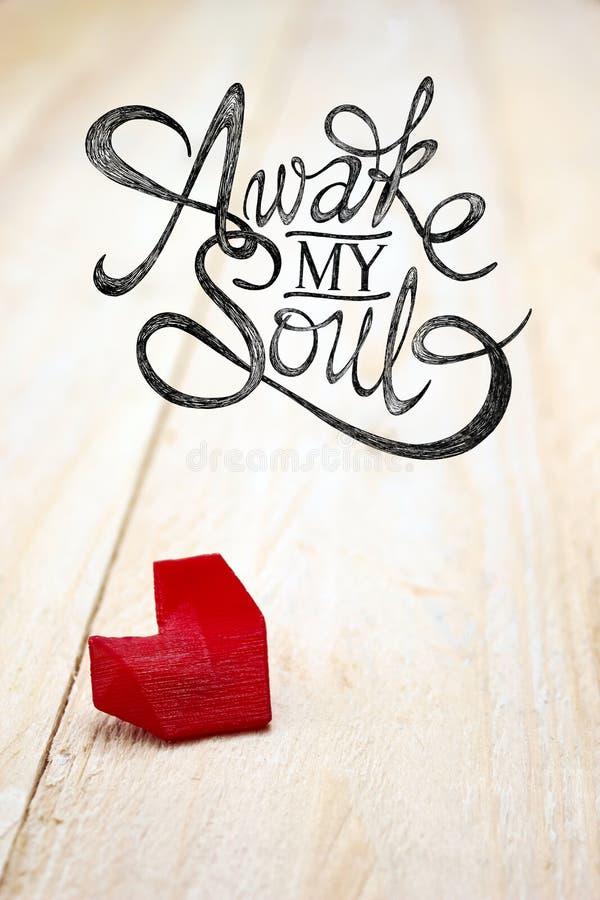 Budzi Mój duszę obrazy stock