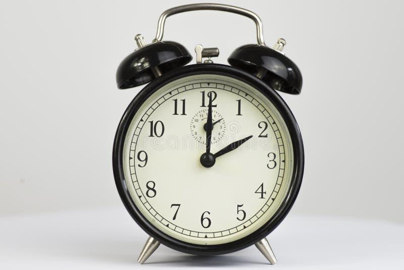Budzika Retro dwa zegar fotografia stock