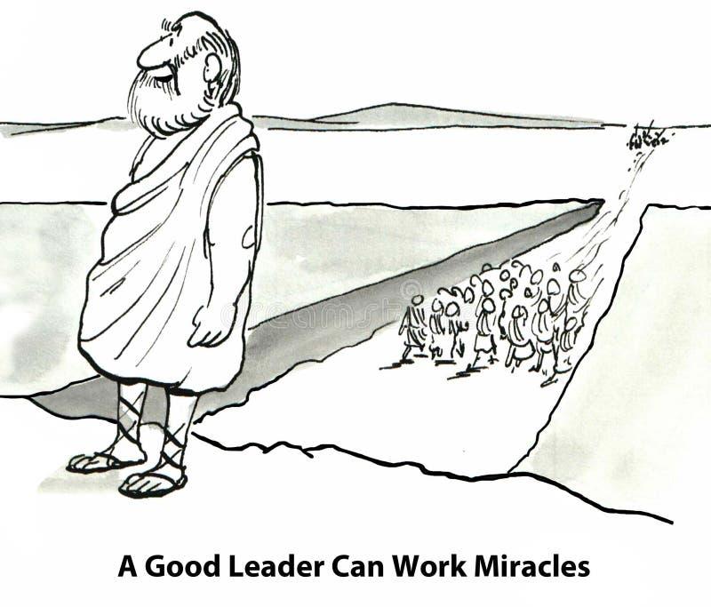 Buen líder Qualities ilustración del vector