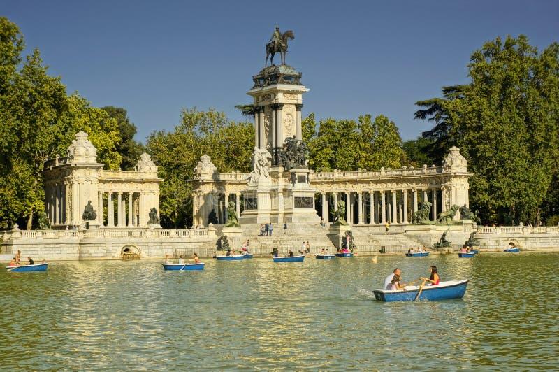 Buen Retiro Park, Madrid, Spain