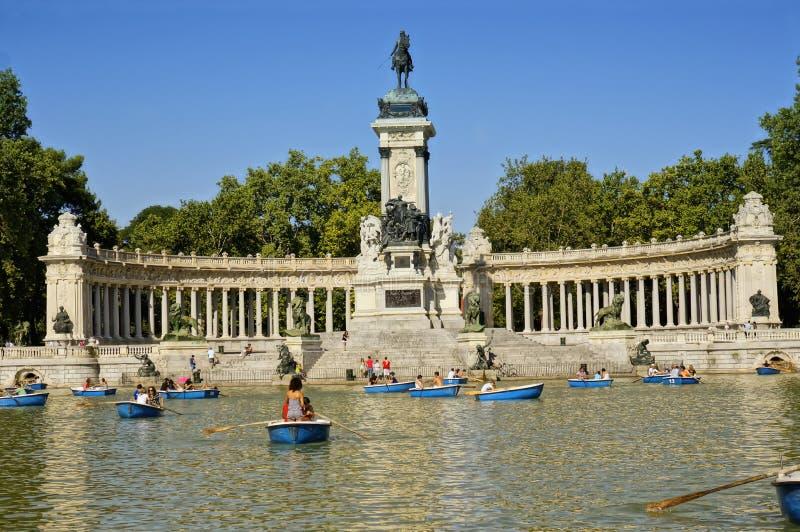 Buen Retiro Park, Madrid, Spain Editorial Image - Image: 26835140