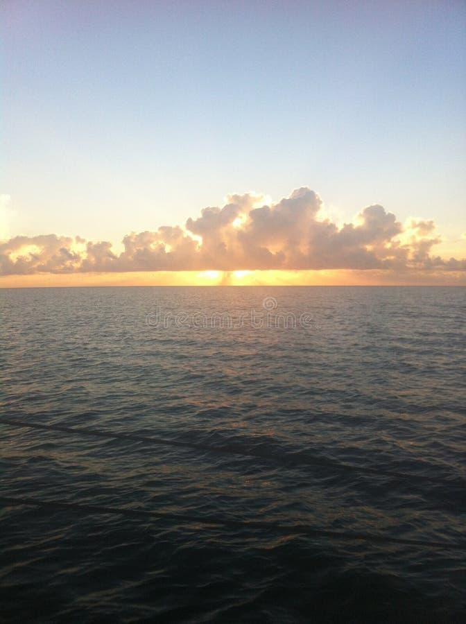 Buena mañana del San Antonio Bay imagenes de archivo