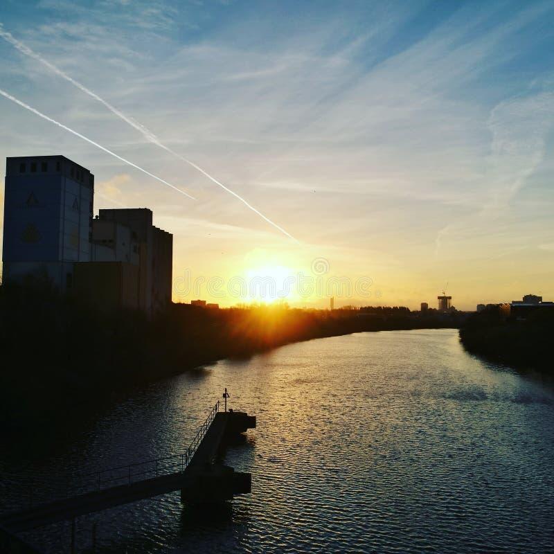 Buena mañana Manchester fotos de archivo libres de regalías