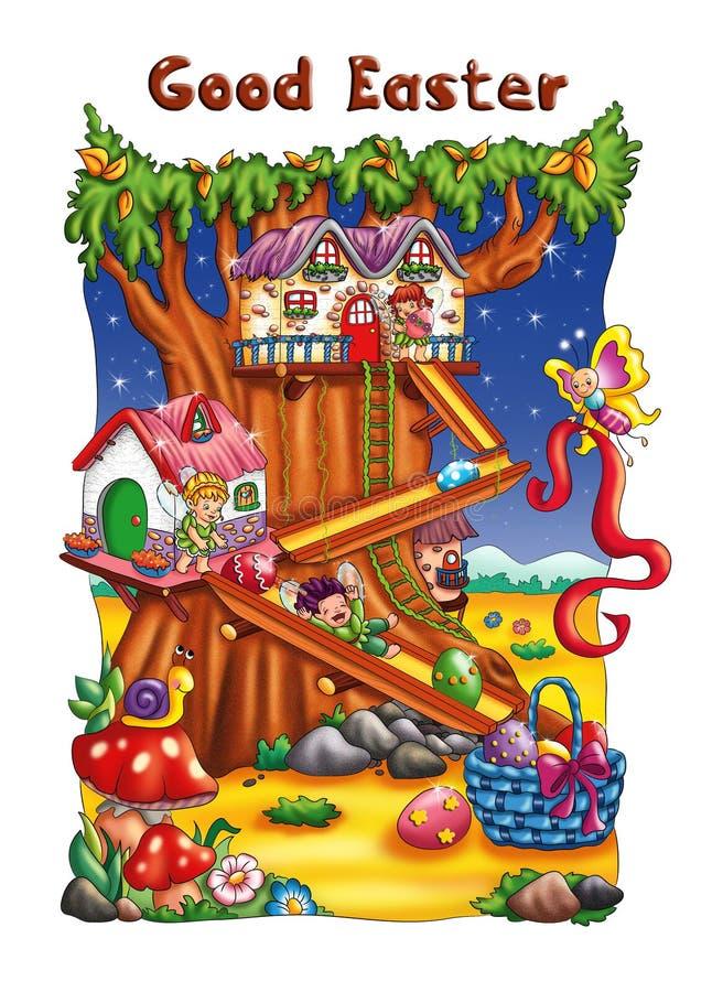 Buena Pascua stock de ilustración