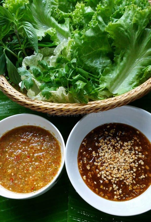 Buena prueba de la comida tailandesa foto de archivo