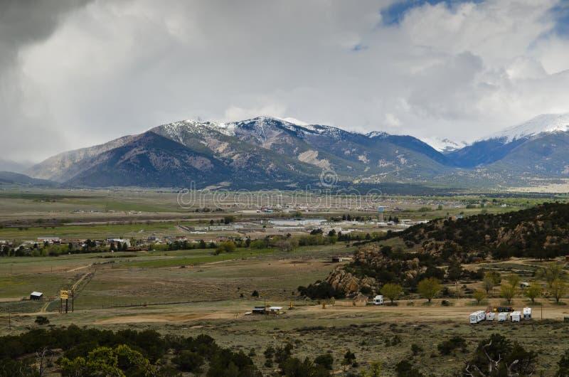 Buena Vista Colorado imagen de archivo libre de regalías