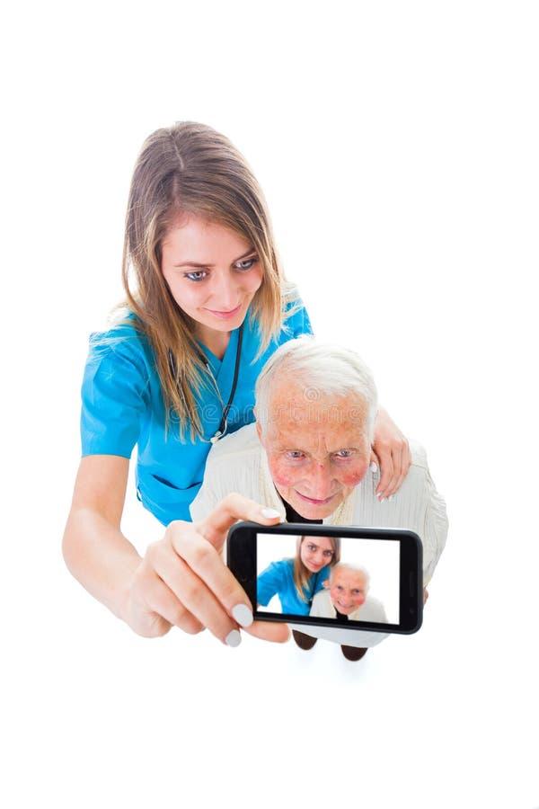 Buenas condiciones del cuidado residencial imágenes de archivo libres de regalías