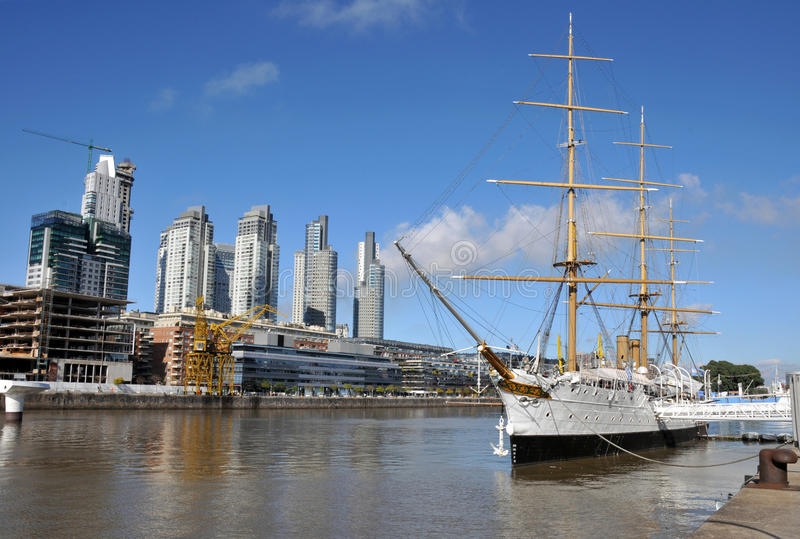 Buenos Aires. Puerto Madero, touristic district in Buenos Aires, Argentina stock photos