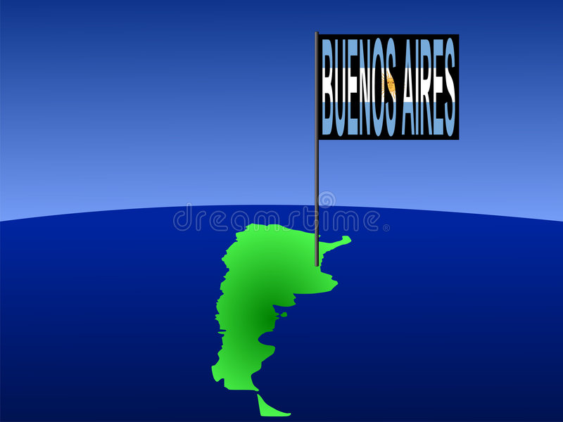 Download Buenos Aires  Argentina stock vector. Illustration of giant - 3106016