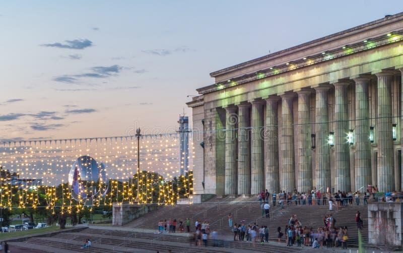 BUENOS AIRES, ARGENTINA - EM DEZEMBRO DE 2016: A faculdade de lei fotos de stock royalty free