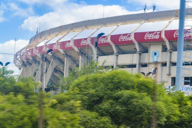 Monumental Soccer Stadium, Buenos Aires, Argentina stock photos