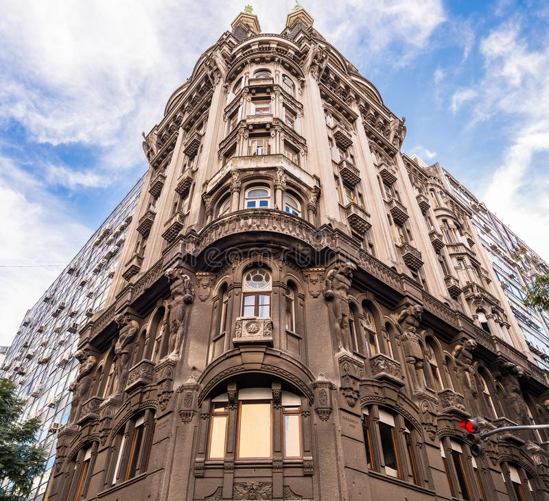 Buenos Aires, Argentina - July 1, 2017: Building Otto Wulf in Buenos Aires stock photography