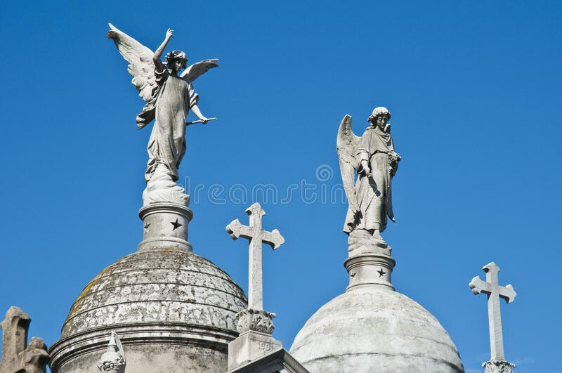 Buenos Aires, Argentina. La Recoleta cemetery in Buenos Aires, Argentina royalty free stock photos
