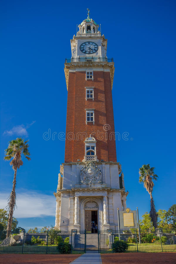 BUENOS AIRES, ARGENTINA - MAY 02, 2016: torre monumental was builded in 1916 and it is 75.5 meters high royalty free stock images