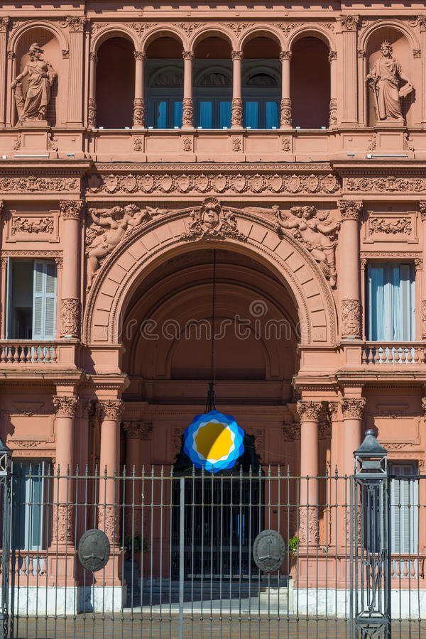 Buenos Aires, Argentina, Presidential Palace Casa Rosada royalty free stock photo