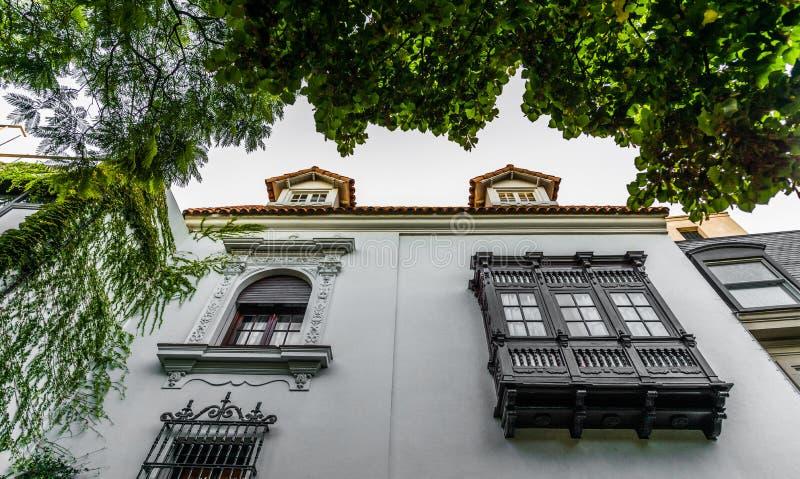 BUENOS AIRES, ARGENTINIË - Maart 17, 2016: Klassieke huizen in Palermo Chico stock afbeelding
