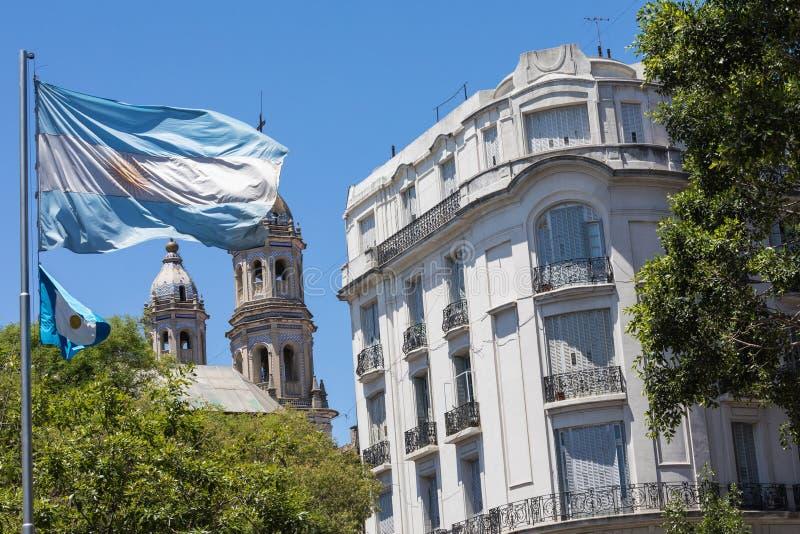 BUENOS AIRES, ARGENTINIEN - 30. JANUAR 2018: Touristisches destinati lizenzfreies stockbild