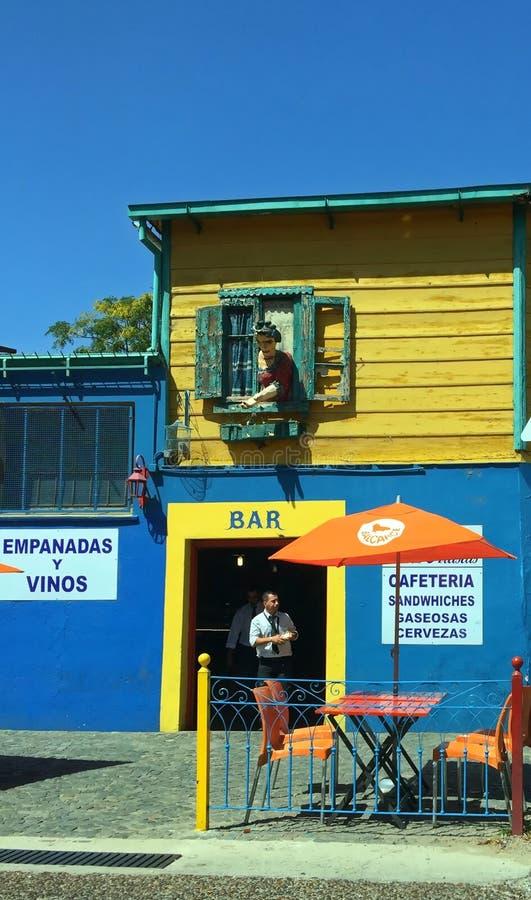 Buenos Aires, Argentyna - zakazuje w losu angeles Boca neighbouhood zdjęcia royalty free