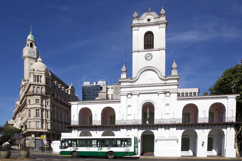 Buenos Aires Cabildo, Argentine images libres de droits