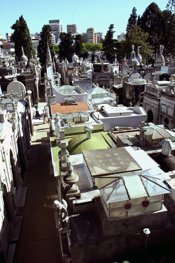 Download Buenos Aires cemetery view stock photo. Image of mythology - 13571040